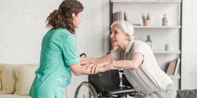 cuidado de mayores las 24 horas